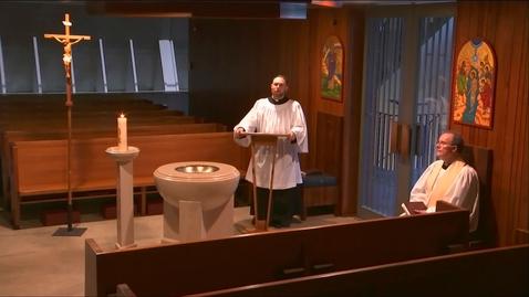 Thumbnail for entry Kramer Chapel Sermon - Monday, May 18, 2020