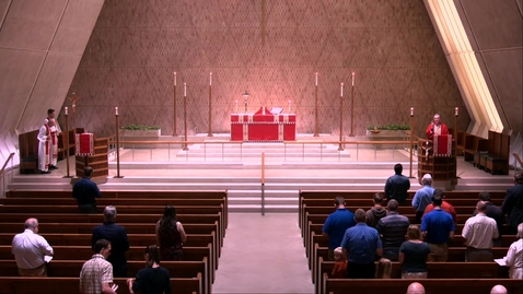 Thumbnail for entry Kramer Chapel Sermon - Thursday, July 25, 2019