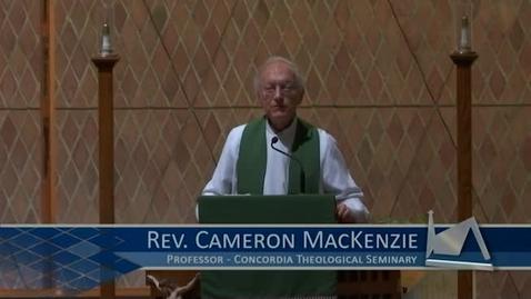 Thumbnail for entry Kramer Chapel Sermon - October 17, 2017