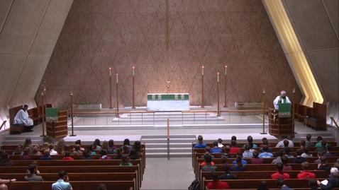 Thumbnail for entry Kramer Chapel Sermon - Monday, June 28, 2021