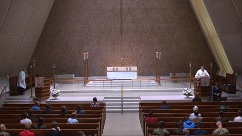 Thumbnail for entry Kramer Chapel Sermon  - Monday, May 3, 2021