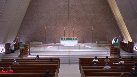 Thumbnail for entry Kramer Chapel Sermon - Monday, Febuary 15, 2021