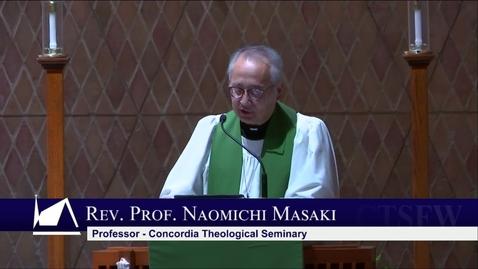 Thumbnail for entry Kramer Chapel Sermon - Thursday, January 30, 2020