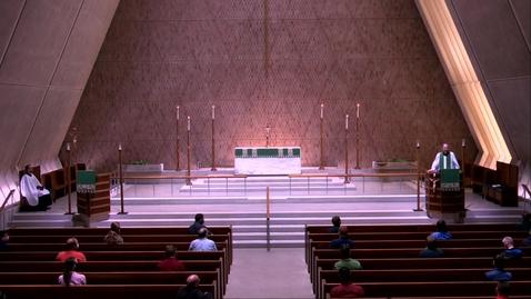 Thumbnail for entry Kramer Chapel Sermon - Monday, June 15, 2020