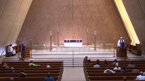 Thumbnail for entry Kramer Chapel Sermon - Friday, February 19, 2021