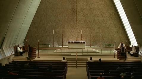 Thumbnail for entry Kramer Chapel Sermon - March 31, 2015