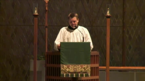 Thumbnail for entry Kramer Chapel Sermon - October 13, 2014