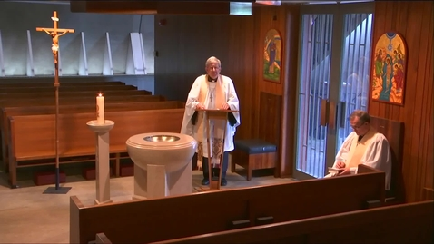 Thumbnail for entry Kramer Chapel Sermon - Wednesday, May 20, 2020