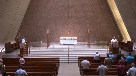 Thumbnail for entry Kramer Chapel Sermon - Thursday, April 8, 2021