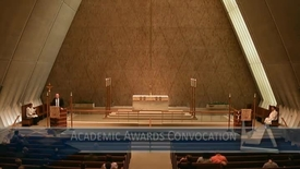 Thumbnail for entry 2015 Academic Awards Convocation