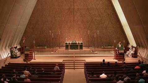 Thumbnail for entry Kramer Chapel Sermon - September 9, 2015