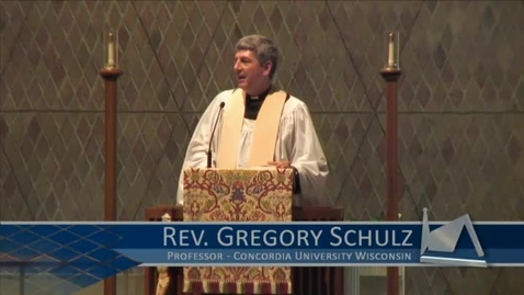 Thumbnail for entry Kramer Chapel Sermon - April 14, 2015