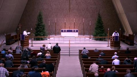 Thumbnail for entry Kramer Chapel Sermon - Tuesday, December 10, 2019