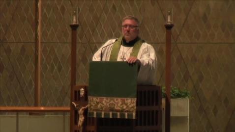 Thumbnail for entry Kramer Chapel Sermon - February 1, 2016
