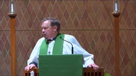 Thumbnail for entry Kramer Chapel Sermon - Monday, February 03, 2020