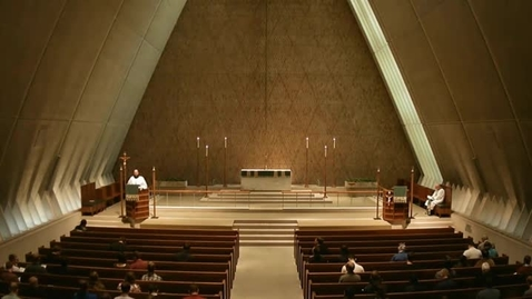 Thumbnail for entry Kramer Chapel Sermon - October 09, 2014