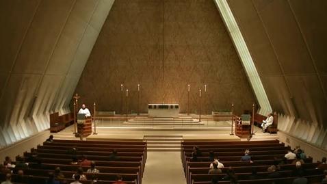Thumbnail for entry Kramer Chapel Sermon - October 09, 2014