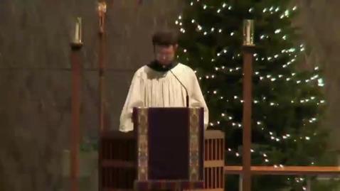 Thumbnail for entry Kramer Chapel Sermon - December 15, 2014