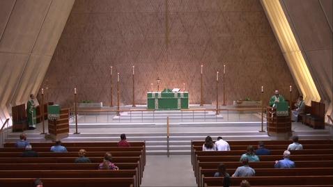Thumbnail for entry Kramer Chapel Sermon - Wednesday, August 12, 2020