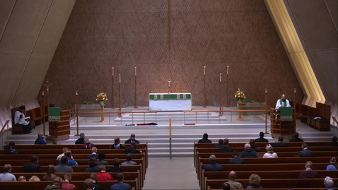 Thumbnail for entry Kramer Chapel Sermon - Friday, November 13, 2020