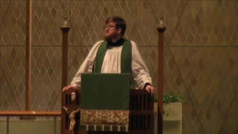 Thumbnail for entry Kramer Chapel Sermon - October 12, 2015