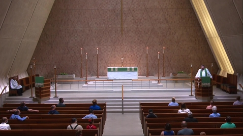 Thumbnail for entry Kramer Chapel Sermon - Monday, July 20, 2020