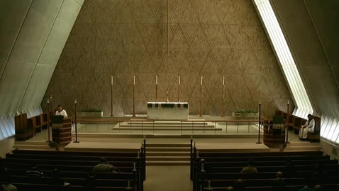 Thumbnail for entry Kramer Chapel Sermon - January 27, 2015
