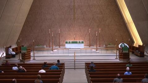 Thumbnail for entry Kramer Chapel Sermon - Monday, August 03, 2020