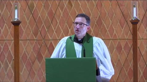 Thumbnail for entry Kramer Chapel Sermon - Friday, February 14, 2020