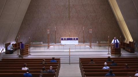 Thumbnail for entry Kramer Chapel Sermon - Thursday, February 18, 2021