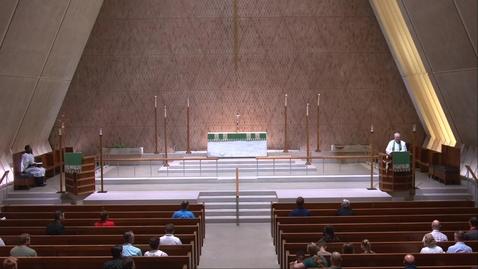 Thumbnail for entry Kramer Chapel Sermon - Thursday, June 17,2021