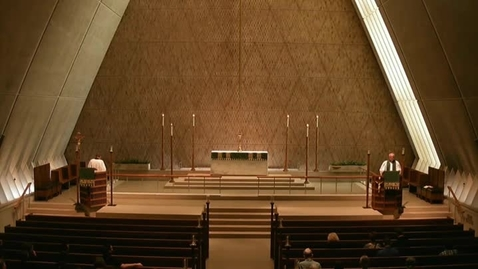 Thumbnail for entry Kramer Chapel Sermon - June 23, 2015