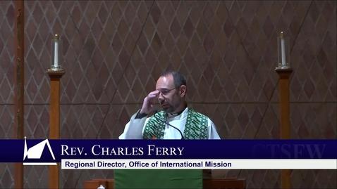 Thumbnail for entry Kramer Chapel Sermon - Thursday, October 7 , 2021