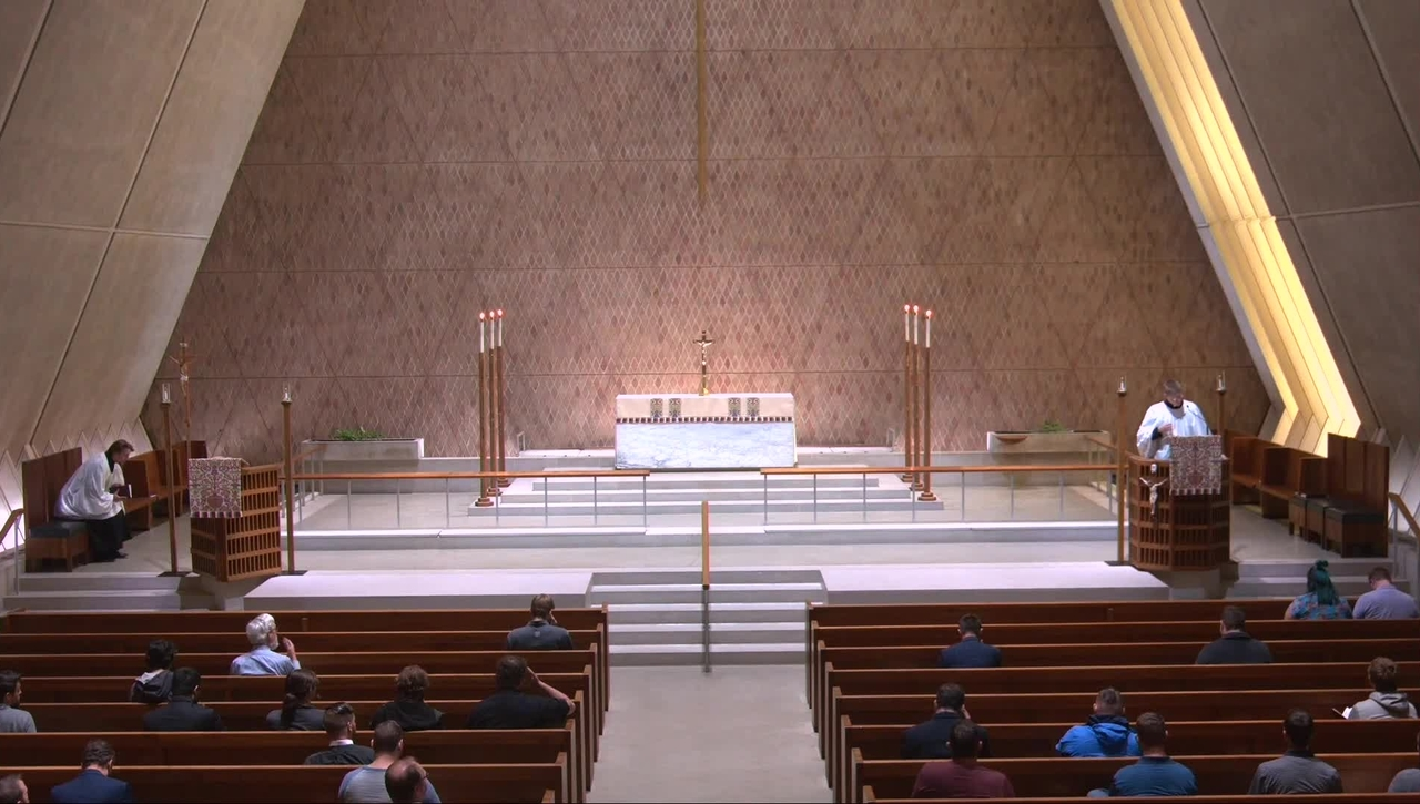 Kramer Chapel Sermon - Friday, May  14, 2021