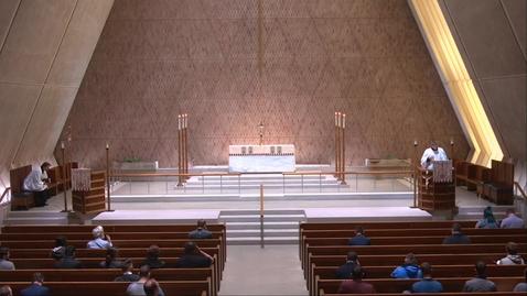 Thumbnail for entry Kramer Chapel Sermon - Friday, May  14, 2021