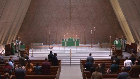 Thumbnail for entry Kramer Chapel Sermon - Wednesday, October 14, 2020