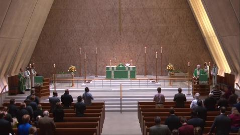 Thumbnail for entry Kramer Chapel Sermon - Wednesday, November 11, 2020