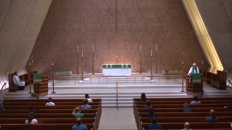 Thumbnail for entry Kramer Chapel Sermon - Tuesday, June 16, 2020