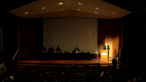 Thumbnail for entry The 43rd Annual Symposium on the Lutheran Confessions Panel Discussion