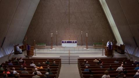 Thumbnail for entry Kramer Chapel Sermon - February 23, 2018