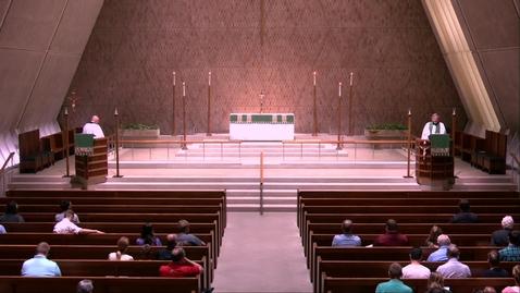 Thumbnail for entry Kramer Chapel Sermon - Monday, July 29, 2019