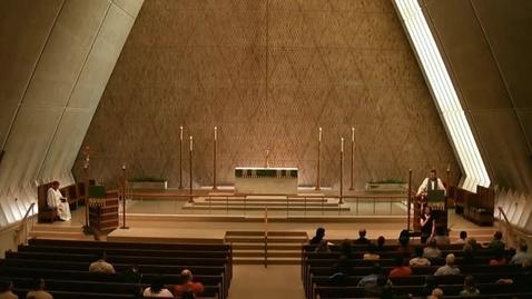 Thumbnail for entry Kramer Chapel Sermon - June 16, 2015