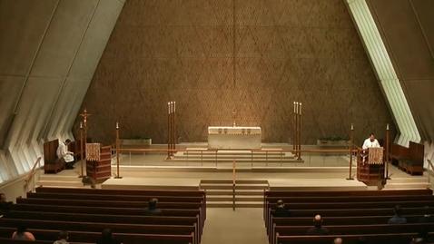 Thumbnail for entry Kramer Chapel Sermon - April 10, 2015