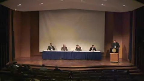 Thumbnail for entry 2014 Symposia - Panel Discussion: Where Does God Dwell? - A Real Presence Hermeneutics