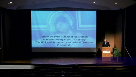 "Thumbnail for entry From Prairie School of the Prophets to the ""Wittenberg of the 21st Century"""