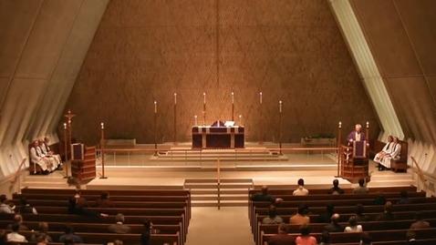 Thumbnail for entry Kramer Chapel Sermon - December 9, 2015