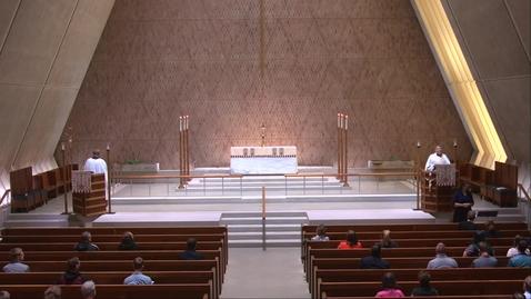 Thumbnail for entry Kramer Chapel Sermon - Tuesday, May 18, 2021