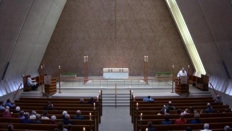 Thumbnail for entry Kramer Chapel Sermon - April 22, 2018