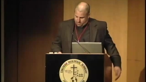Thumbnail for entry Symposia 2011 - The King James Version: The Beginning or the End - Video