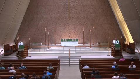 Thumbnail for entry Kramer Chapel Sermon - Friday, July 2, 2021
